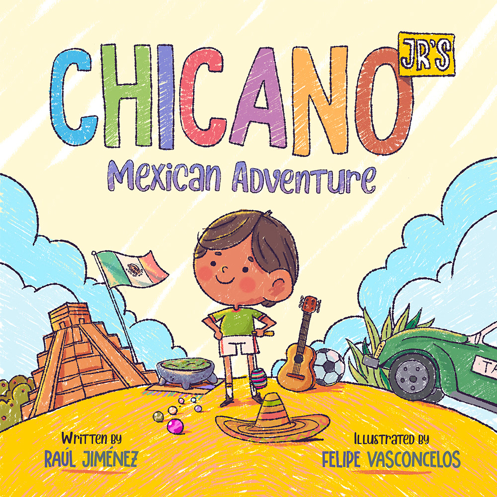 Felvast - Chicano Jr - Children's Illustrations