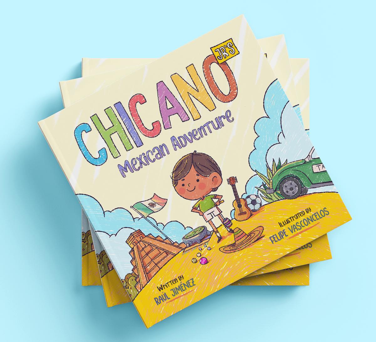 Felvast - Chicano Jr - Children's Illustrations