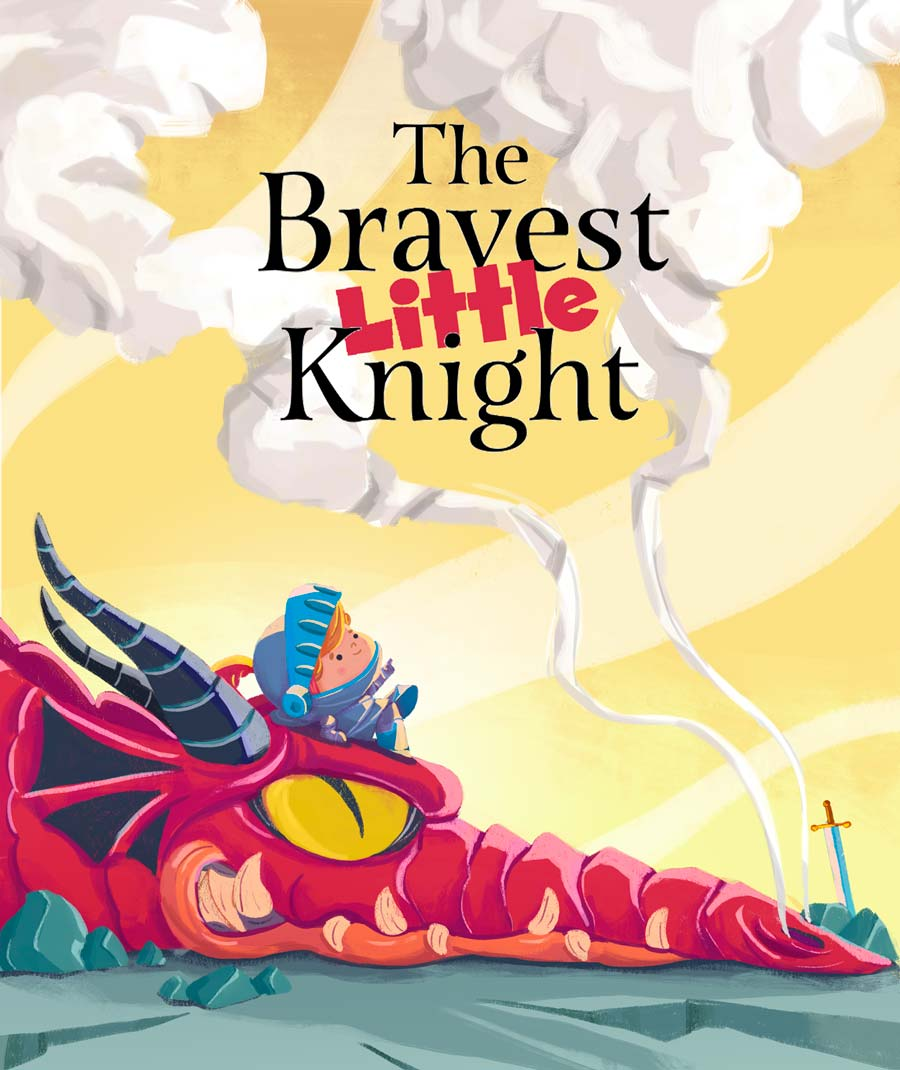 Felvast - The bravest little knight illustration