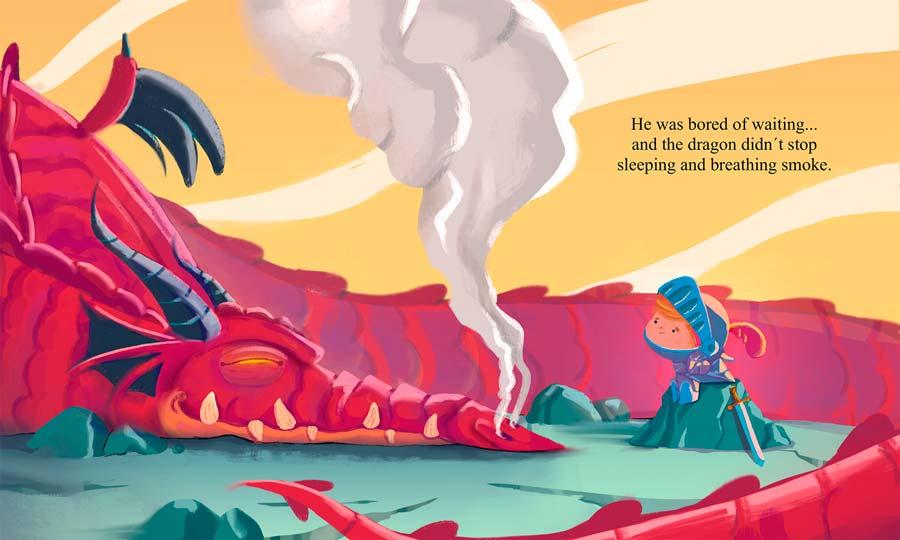 felvast - dragon ilustration