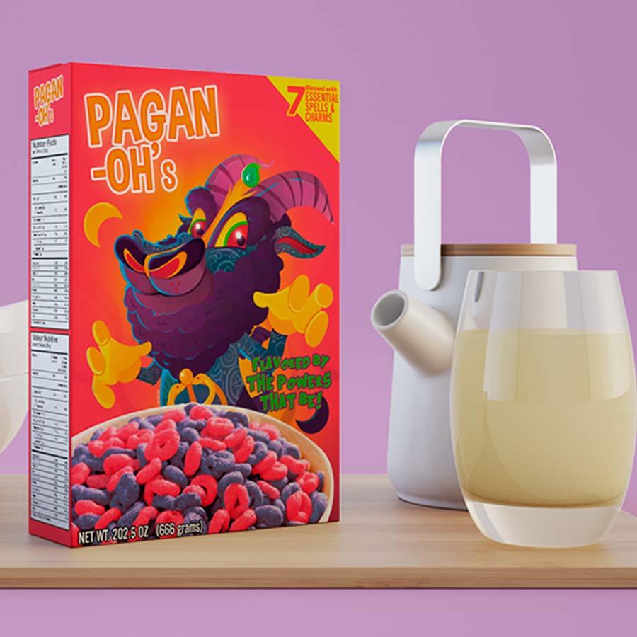 Felvast - Aleister cereal box