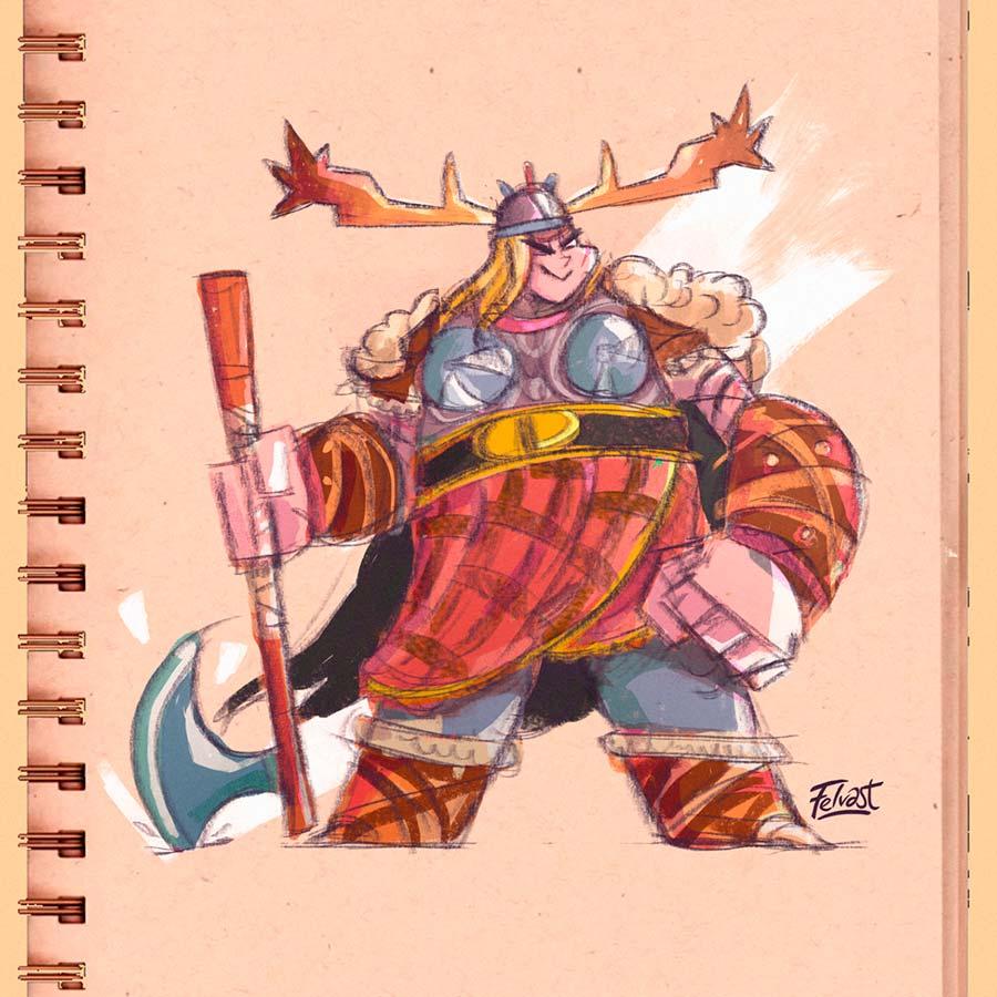 Viking Felvast